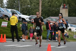 13.1 mile run of Lake Stevens 70.3
